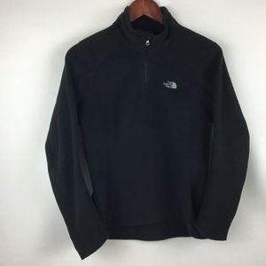 The North Face Black Woman's 1/4 Zip Fleece Jacket